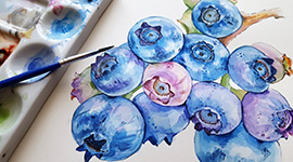 FREE! Watercolor Happy Hour